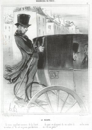 The Bailiff's Man, Bohemians of Paris series, 1841