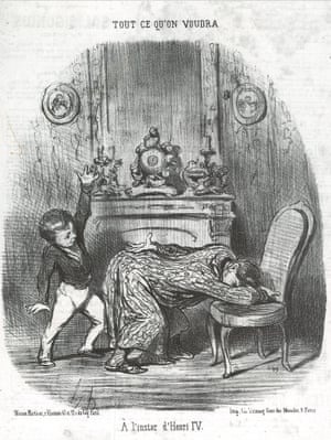 In the manner of Henri IV from the As You Like It series, 1852