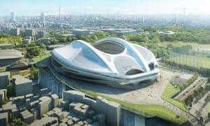 Zaha Hadid Tokyo 2020 Olympic stadium