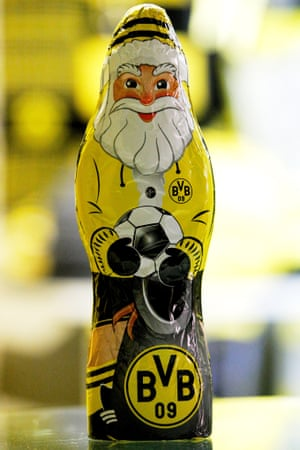 Christmas comes early to Signal Iduna Park with the sale of Borussia Dortmund themed goodies