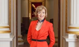 Resigned ... Fiona Woolf.