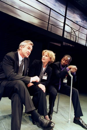 David Edgar's The Prisoner's Dilemma at the Other Place, RSC, in 2001.