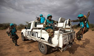 HRW says Unamid forces in Darfur 'have been hamstrung … in the implementation of its core mandate'.