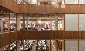University of Queensland's advanced engineering building.