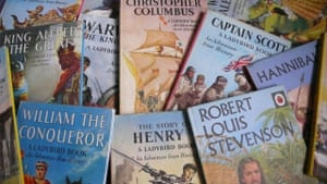 a collection of vintage ladybird books