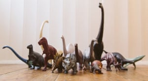 a collection of invicta dinosaurs