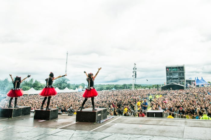 Babymetal Ive Never Been In A Moshpit I Think Id Get