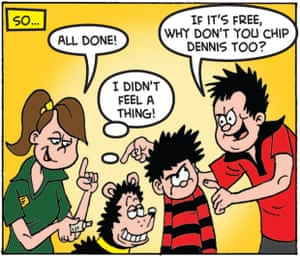 Gnasher gets a microchip
