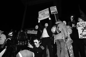 million mask march in london