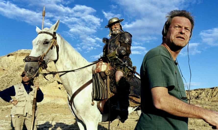 Lost in La Mancha film still