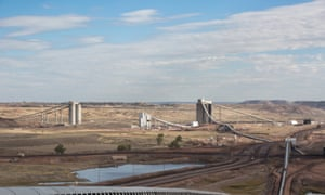 40% of America's coal comes out of the Powder River basin in Wyoming where Peabody's North Antelope Rochelle Mine is based