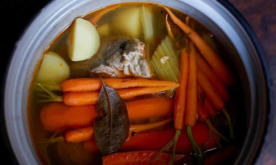 Cook once, eat twice: Rachel's final recipe for Roman boiled beef and carrots is remarkably like those back in Blighty.