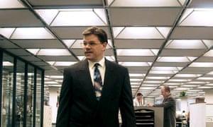 Incredible shrinking Matt …Damon in The Informant.