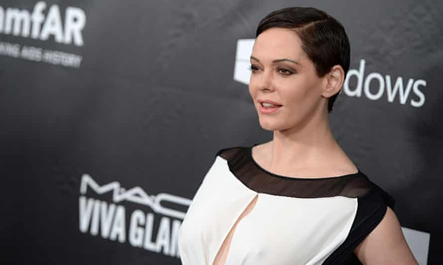 Actress Rose McGowan attends