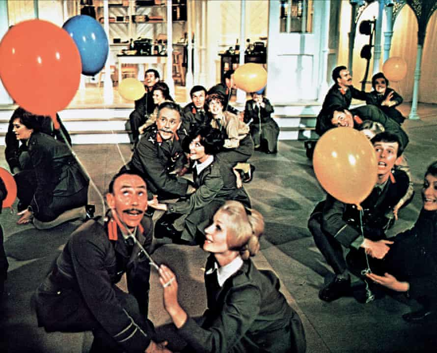 Scene from 'Oh what a Lovely War', 1969.