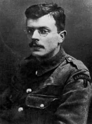 Ivor Gurney in 1915.