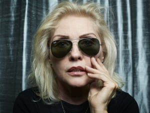 Debbie Harry in NYC.