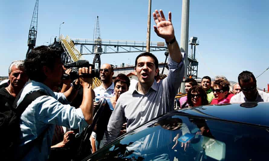 Alexis Tsipras srecko