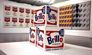 Brillo Boxes, 1964, Andy Warhol, Tate Liverpool