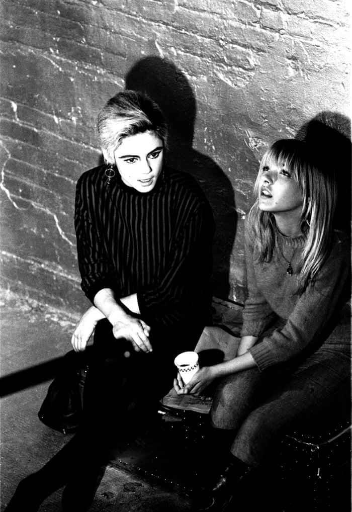 Edie Sedgwick and Bibbe Hansen