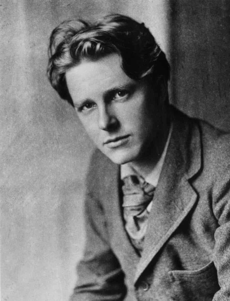 Rupert Chawner Brooke in 1913.