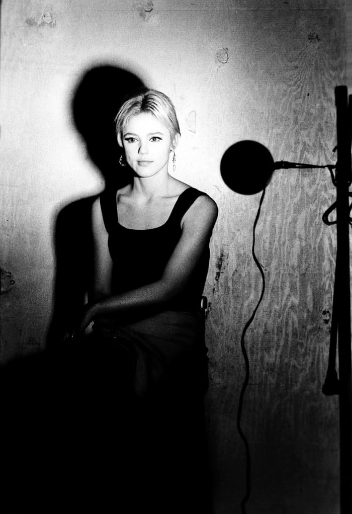 Edie Sedgwick during the filming of one of her screen tests
