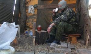 Donetsk militiaman