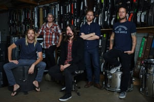 The Foo Fighters have been making music for 20 years and are now releasing their eighth album.