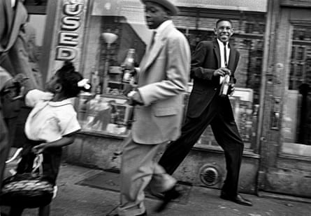 New York by William Klein: Harlem, 1955.