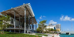 The Pérez Art Museum of Miami, opened in December 2013