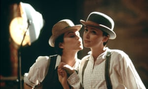 Rachael Stirling, left, as 'the very selfish' Nancy in the BBC adaptation of Sarah Waters's Tipping the Velvet.