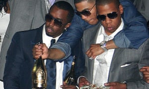 Jay Z with Diddy and Nelly
