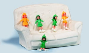 Sophie exchanged these dolls with a friend for a clown doll that was too weird for her.