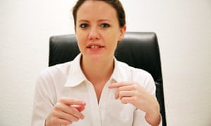 Activist Sarah Harrison, who spent four months assisting whistleblower Edward Snowden, has moved to Berlin.