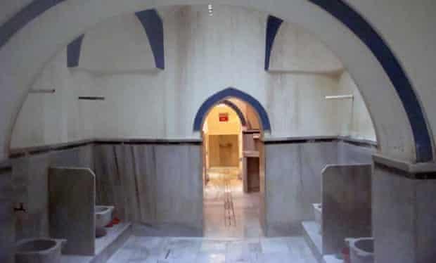 Big Bath (Buyuk Hamam) in the Kasimpaşa area