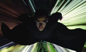 Lost in cyberspace … Keanu Reeves in The Matrix Reloaded