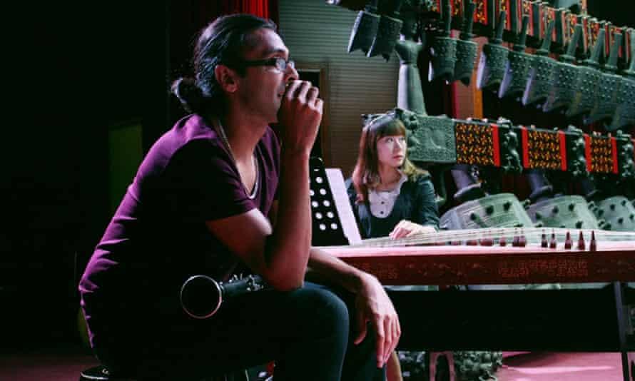 Arun Ghosh in the studio