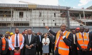 Extension to Nairobi airport