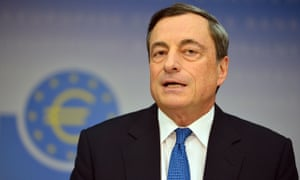 Mario Draghi suggests the ECB could introduce more quantitative easing