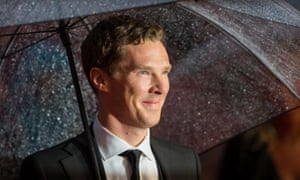 Benedict Cumberbatch attends a screening of The Imitation Game in London.