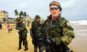The former US navy Seal Robert O'Neill, who has claimed to be the shooter of Osama bin Laden