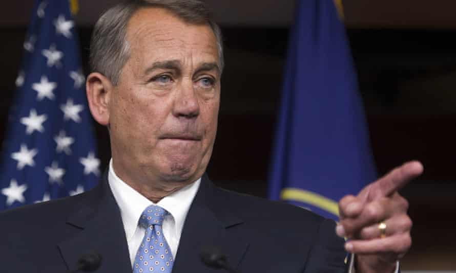 John Boehner wasted no time in flexing Republican Congressional strength following the midterm elections.