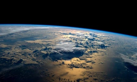 A handout picture made available by NASA on 04 September 2014 shows a view of Earth taken by NASA astronaut Gregory Reid Wiseman of the US from the International Space Station (ISS) on space, 02 September 2014.