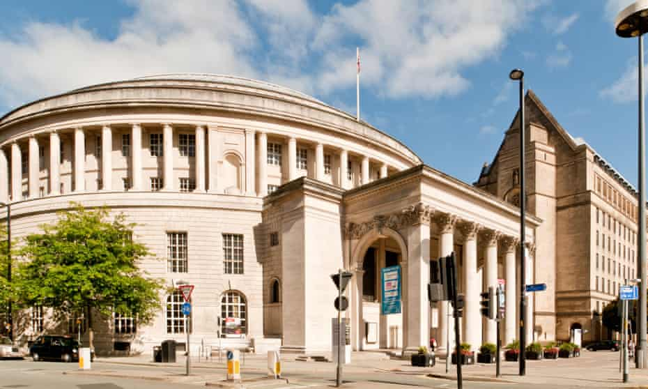 Manchester's magnificent Central Library, which is hosting Everything Everything's Chaos to Order festival