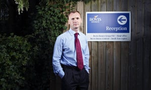 David Ritchie, CEO of Bovis Home