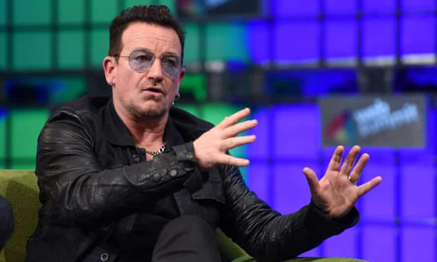 Bono at Web Summit: 'The music business has historically involved itself in quite considerable deceit'.