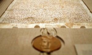 Sotheby's Magna Carta