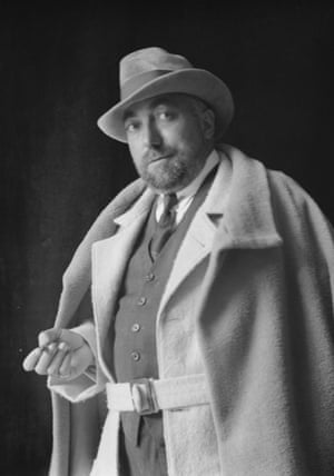 French fashion designer and decorator Paul Poiret in 1922
