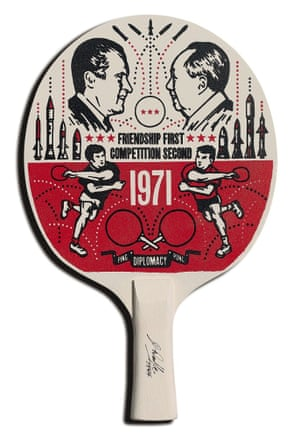 Bold & Noble Ping Pong The art of bats