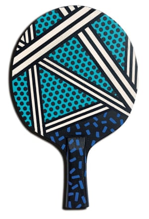 The art of Ping Pong Camille Walala bats